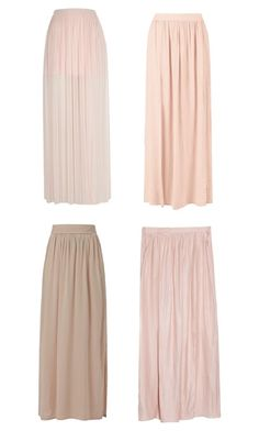 """""""Pink Maxi Skirts"""" by perrieanddaniellestyle ❤ liked on Polyvore featuring MANGO"""