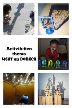 Thema activiteiten met peuters en kleuters in het kader van licht en donker - Mamaliefde.nl
