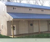 Hand built garages pole barns on pinterest amish sheds for Amish built pole barn houses