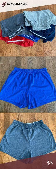 SOFFE BRAND UNISEX YOUTH SIZE S 100/% COTTON SHORTS  EVERYDAY NAVY BLUE