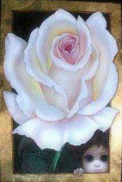 """""""Under The White Rose"""" ~ Margaret Keane, 2004"""