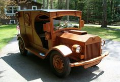 Scavenger Hunt: drive me wild -   Hemmings Daily - all-wood 1936 Ford
