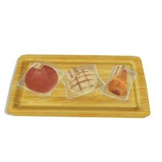 メロンパン、あんパン、チョココロネなどの菓子パンセットです かじりモーフ付き。 大きい画像はこちら http://seiga.nicovideo.jp/seiga/im4...