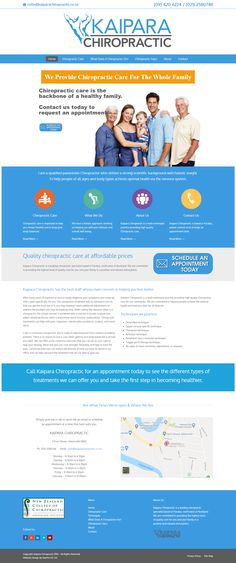 Dominate Your World Online Custom Web Design, Custom Website Design, Website Design Company, Chiropractic Clinic, Family Chiropractic, Portfolio Website, Digital Marketing, Web Design Company