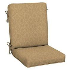 Patio Cushion Ideas - Hampton Bay Bellagio Quick Drying Outdoor Chair Cushion - The Home Depot