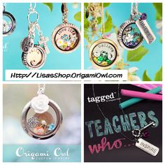 Check out Origami Owl!  Http://LisasShop.OrigamiOwl.com