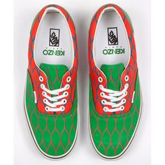 Vans. But most of all: Kenzo.