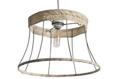 Lampshade Frame Pendant Light129 dollars