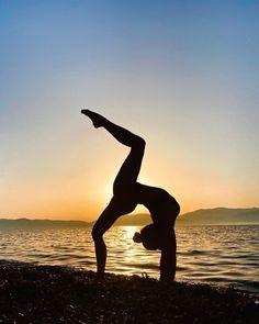 Yoga Flow, Yoga Poses, Dawn, Bring It On, Celestial, Sunset, Beach, Outdoor, Instagram