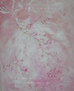 My beautiful Tutu and Roses painting available at http://www.debicoules.com/item_675/Tutu-with-Pinks-and-Whites.htm