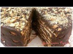 Receita : Torta Palha Italiana de Chocolate -Simples de Fazer - YouTube