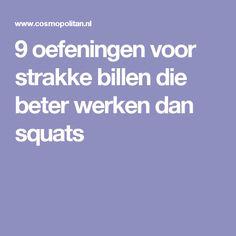 9 oefeningen voor strakke billen die beter werken dan squats