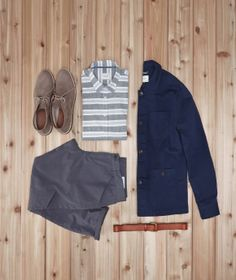 Nice get-up pulled together by Chris Walker over at Kicks & Threads featuring some standout pieces from Frank & Oak.
