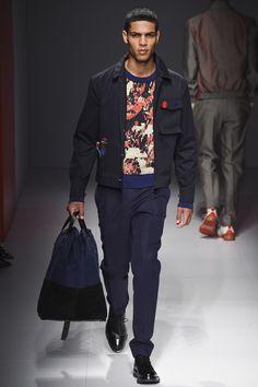 See the complete Salvatore Ferragamo Spring 2017 Menswear collection.