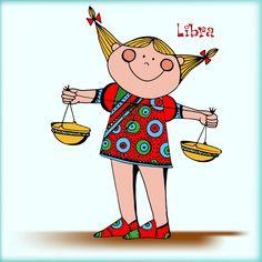 Libra symbol for t-shirt, card, calendar Libra Symbol, All About Libra, Illustrations, Horoscope, Zodiac Signs, Symbols, Stock Photos, Illustration Children, Kids