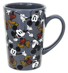 Mickey Mouse & Minnie Mouse Gray Mickey Mouse Mug