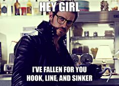 Hipster Once Upon a Time | Captain Hook (so punny)