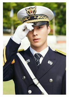 Korean Drama Stars, Korean Star, Korean Men, Asian Actors, Korean Actresses, Actors & Actresses, Gong Myung, Army Look, Handsome Korean Actors