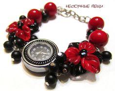 """Купить Часы """"Фламенко"""" - часы, часики, женские часы, наручные часы, часы с браслетом"""