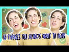 (13) Learn the Top 10 Hebrew Phrases You Always Want to Hear - YouTube