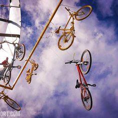 source instagram tdwsport  Bikes all over, sky high @letourdefrance @letour2017 #tdf #stage3 #bikes #sky #cycling  tdwsport  2017/07/04 09:44:41