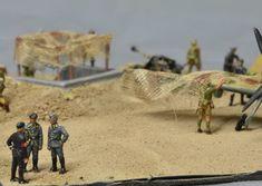 d day diorama airfix