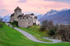 21. Go to Liechtenstein, an underrated, small country between Austria and Switzerland, and climb to the top of Vaduz Castle for dramatic Alpine views.