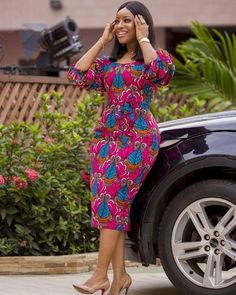 Joselyn Dumas Rock This Lovely Classical Ankara Gown StylesLatest Ankara Styles and Aso Ebi Styles 2020 Nigerian Outfits, Nigerian Dress, Nigerian Clothing, Short African Dresses, African Fashion Dresses, Short Dresses, Midi Dresses, African Print Fashion, African Prints