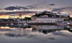Torquay Harbour and Big Wheel - Torbay