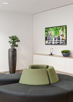 Loungemöbel, Accessoires, Vase, Sideboard, Medientechnik