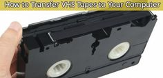 How to Transfer VHS Tapes to Your Computer#diy, #tips, #moviemaking