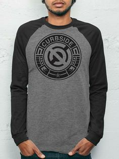 Curbside Circle - Black/Grey Men's Baseball