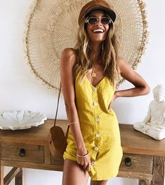 1,519 вподобань, 7 коментарів – Mura (@mura_boutique) в Instagram: «This bright little mini is back☀️Shop the Irreplaceable Girl Dress via back in stock! Get 30%…»