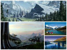 7. Planeta Alderaan (Grindelwald, Suiza)