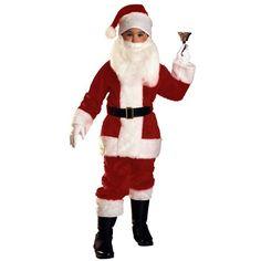 Economy Child Santa Suit Medium Christmas X-Mas « Clothing Impulse