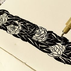 """Boredom #ink #india #indianart #illustration #pen  #art #artsy #artist #sketchbook #support_artists22 #love #rose #beautiful @rubberband_kit #ThisIsMyArt"" Photo taken by @sharmaparul_ on Instagram, pinned via the InstaPin iOS App! http://www.instapinapp.com (06/19/2015)"