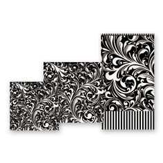 Michel Design Works - Black Florentine Luncheon Napkins - Paper Napkins - Product Categories