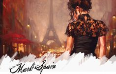 J'adore this Mark Spain painting... <3