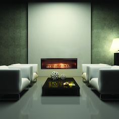 The Aspect Direct-Vent Fireplace | WoodlandDirect.com: Fireplaces - Gas & Inserts, Fireplace Units, Contemporary & Wall Fireplaces