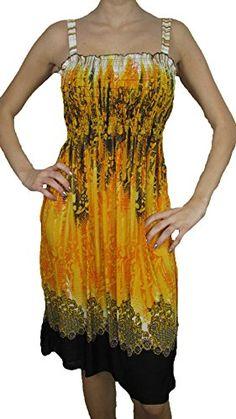 2626 Sun Dress Multi Colors Stretch Knee High Tank Top Women Dress Multi 24 M Dresses http://www.amazon.com/dp/B00IJHIM2O/ref=cm_sw_r_pi_dp_3hY.ub0WW65KX