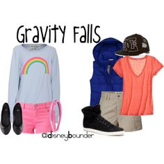 Gravity Falls i love the outfit on the right