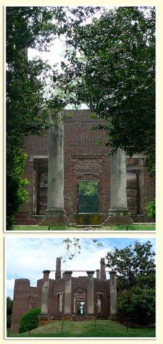 barboursville ruins near charlottesville