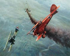 1917 Bloody April, Albatros and Sopwith Dogfight - Don Breckon ~ BFD: