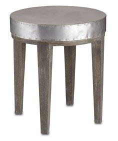 """Wren Table from Currey Co.  21"""" h, 18 d, 18 w $484"""