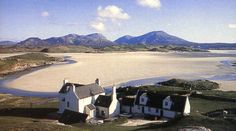 Baile-na-Cille, a little inn on the island of Lewis in the Outer Hebrides of Scotland.