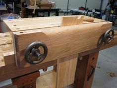 Moxon Vise / Bench on a bench - by lysdexic @ LumberJocks.com ~ woodworking community