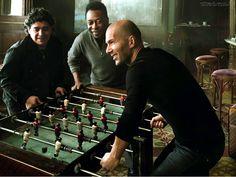 Maradona, pele, Zidane    TOO MUCH GREATNESS IN ONE ROOM