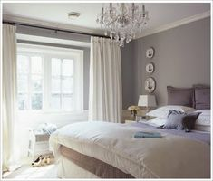Bedroom Painting Designs : Grey Bedroom Paint Colors Home Decor Interior Design Furniture ~ Grey And Yellow Bedroom. Pink And Grey Bedroom. Modern Grey Bedroom, Grey Bedroom Design, Bedroom Paint Colors, Trendy Bedroom, Paint Colours, Minimalist Bedroom, Bedroom Designs, Feminine Bedroom, Bedroom Simple
