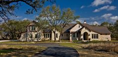 A classic #custom #house with stonework details.