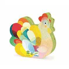 Buy Djeco Puzzles for children of all ages online with beautifully designed puzzles by renowned artists. for the largest range of Djeco Jigsaw puzzles for children with free delivery options Puzzle Djeco, Grey Purple Paint, Dream House Drawing, Pull Along Toys, Thick Cardboard, Musical Toys, Modern Boho, Hens, Educational Toys